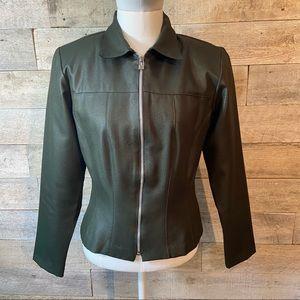 Wrapper women's green zip up jacket in size 9/10